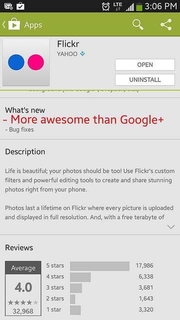 What I'd like to see from @flickr